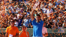 Djokovic bate a Murray en la final del Masters 1000 de Miami