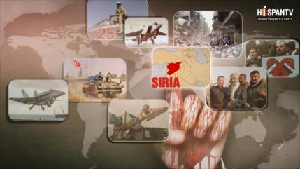 Siria; Amenazas que alientan una guerra global