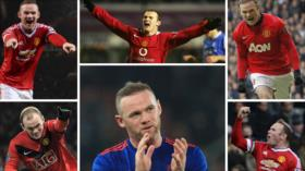Rooney hace historia en Manchester United con espectacular golazo