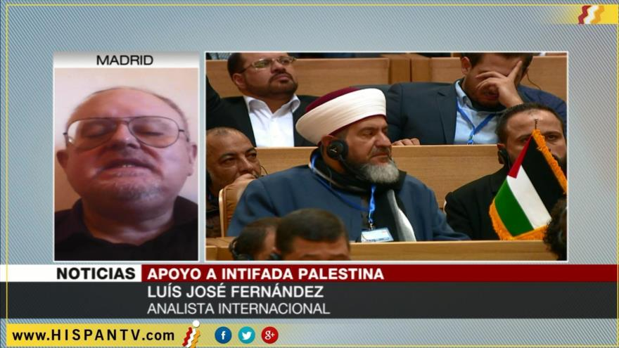 'Conferencia de Intifada es fundamental contra ocupación israelí'