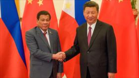 Duterte: Presidente de China amenazó a Filipinas con guerra