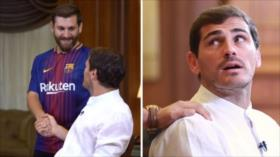 Vídeo: el doble iraní de Messi sorprende a Iker Casillas