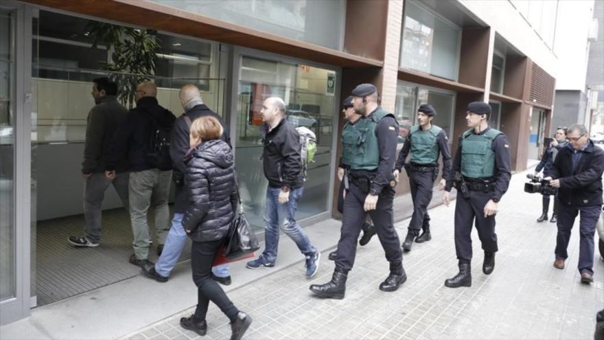 Despliegue total de Guardia Civil en Cataluña ante el referendo
