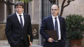 Cataluña repudia provocativo arresto de líderes independentistas