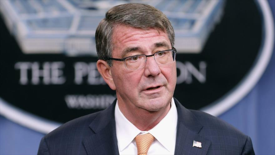 El secretario de Defensa de EE.UU., Ashton Carter