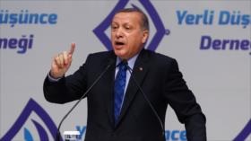 Erdogan critica doble rasero del Occidente en terrorismo