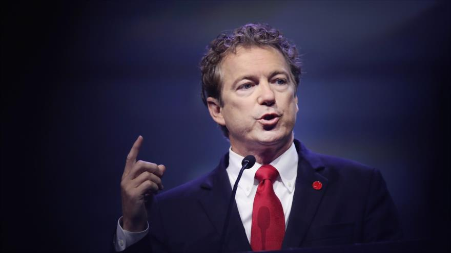 Rand Paul, senador republicano por el estado de Kentucky.