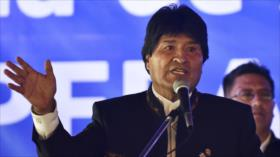 Morales denuncia financiamiento