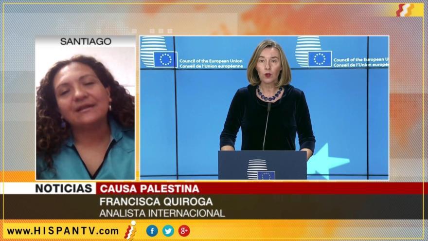 'Poco a poco comunidad internacional reconocerá el Estado palestino'