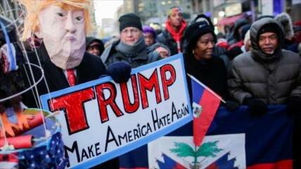 Trump obtiene la aprobación más baja de los presidentes de EEUU