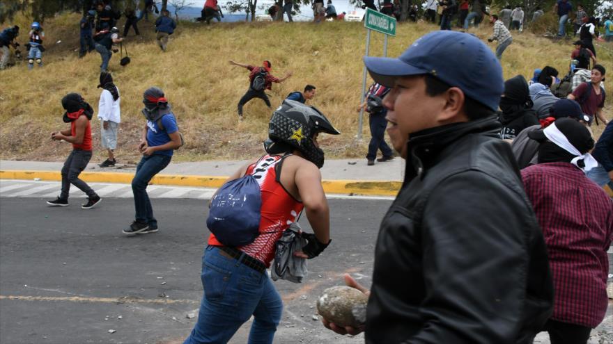 Oposición hondureña llama a nuevas protestas tras decisión de OEA