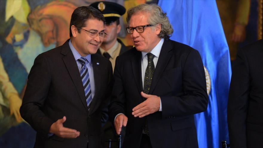 Almagro expresa su disposición para trabajar con Hernández