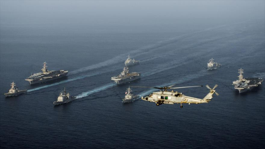 EEUU confirma que sus buques recibieron advertencias de Irán 