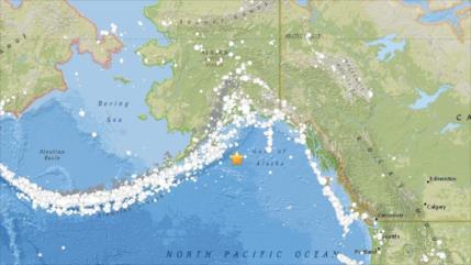 Alerta de tsunami tras terremoto de 7,9 grados en Alaska