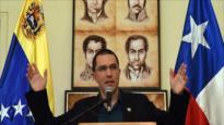 Arreaza a Piñera: Ojalá no terminen por privatizar el oxígeno