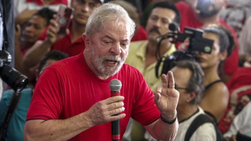 Lula, tranquilo ante juicio mientras el pueblo sale en su defensa