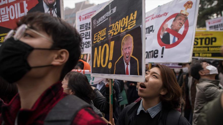 Seúl: Un ataque de EEUU a Pyongyang podría quemar toda la península