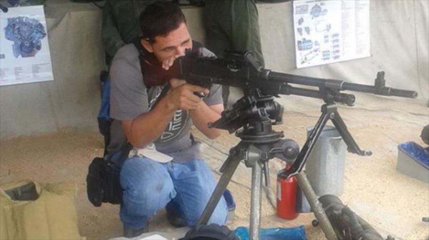 Abraham Israel Agostini, uno de los compañeros del expiloto abatido Óscar Pérez, durante un viaje a Cuba en 2014.