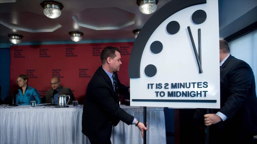 Reloj del Apocalipsis: Científicos adelantan el fin del mundo