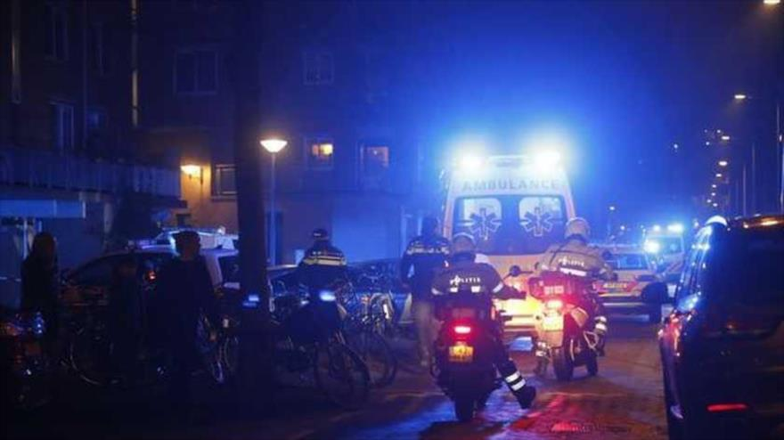 Tiroteo en Amsterdam deja un muerto y dos heridos
