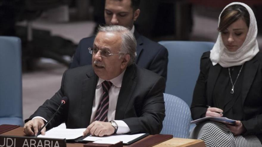 El representante permanente de Arabia Saudí ante la Organización de las Naciones Unidas (ONU), Abdullah al-Mouallimi.