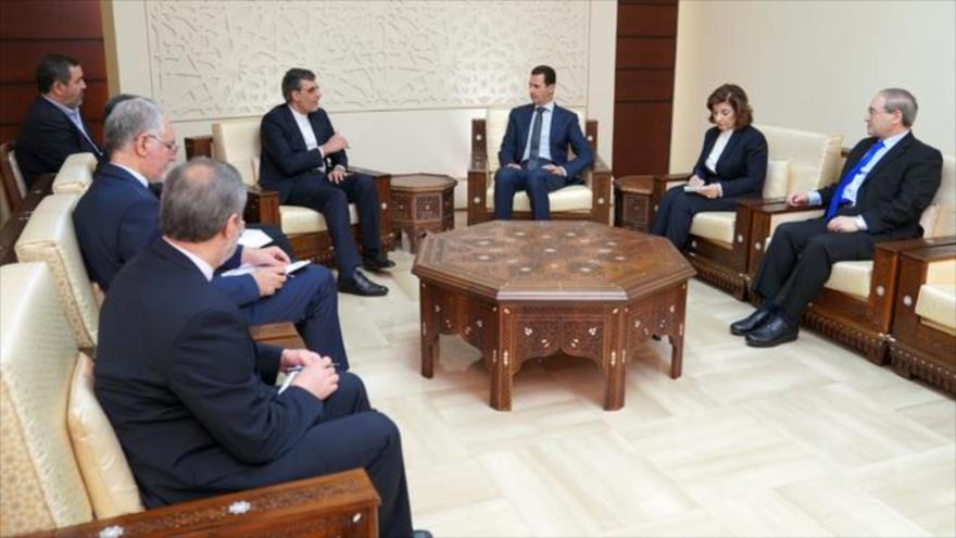 Al-Asad: Siria luchará contra el terrorismo con la ayuda de Irán