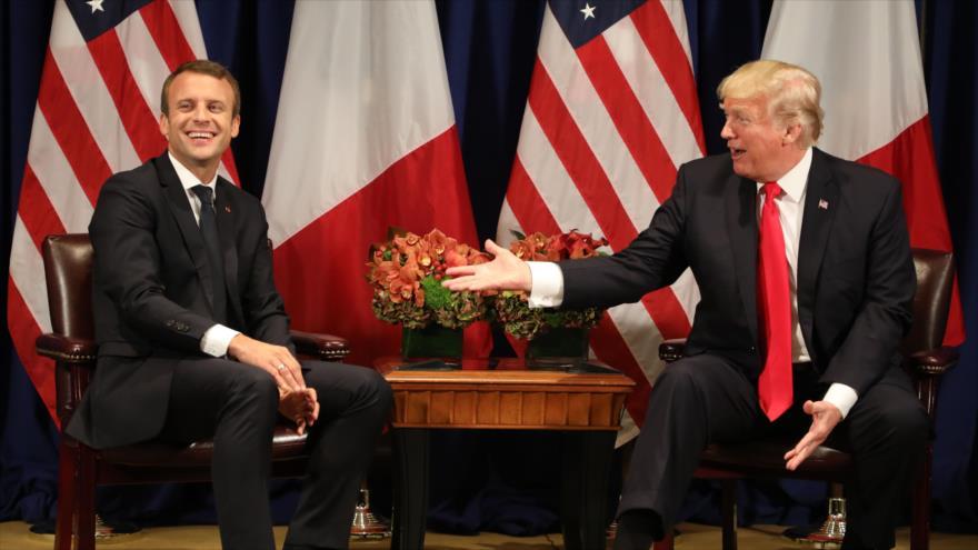 Gobierno de Venezuela rechaza declaraciones del presidente francés Emmanuel Macron