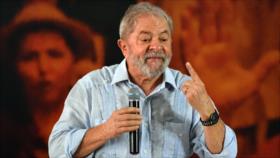 Lula da Silva: Cuanto más me persiguen, más subo en las encuestas