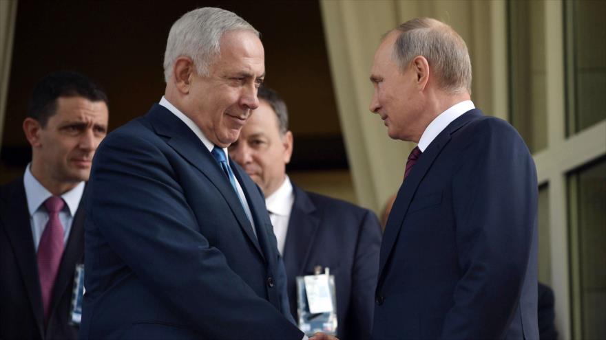Netanyahu vuelve a viajar a Rusia para abordar conflicto en Siria