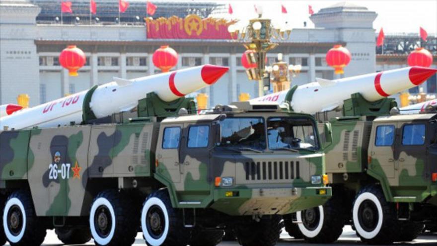 'China debe mejorar su potencia nuclear para evitar acoso de EEUU'
