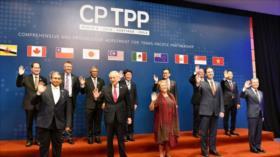 11 países firman en Chile nuevo pacto de libre comercio sin EEUU