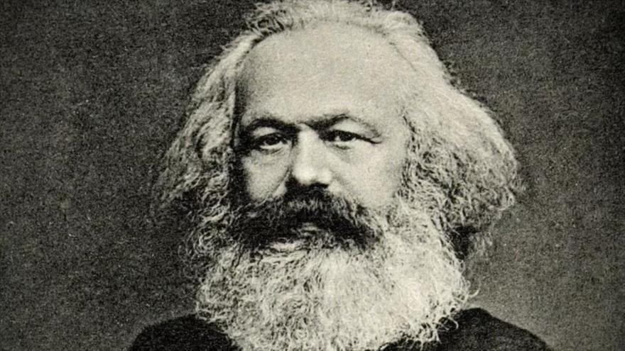El filósofo alemán, Karl Marx.