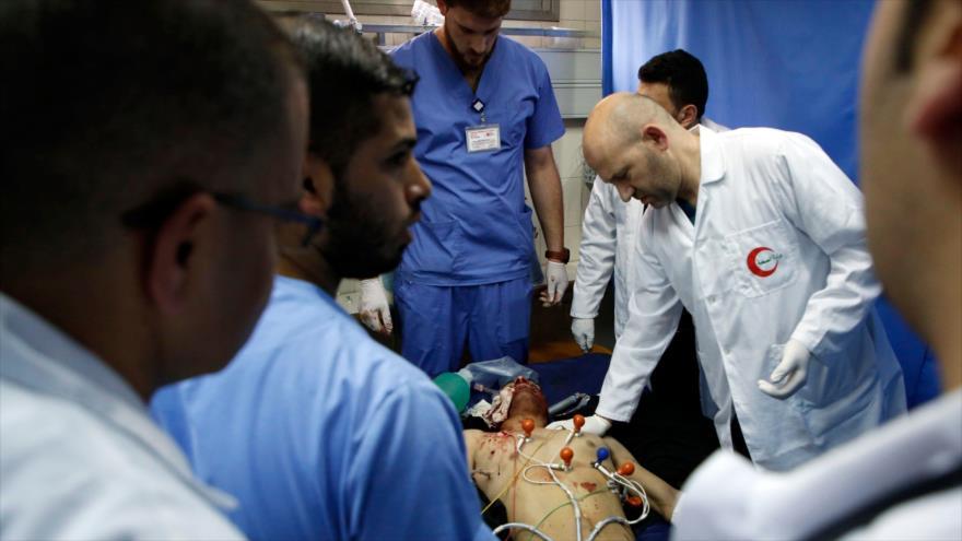 Ejército israelí mata a tiros a un palestino discapacitado