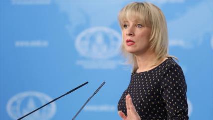 Portavoz de Cancillería rusa dice haber sido acosada por diputado