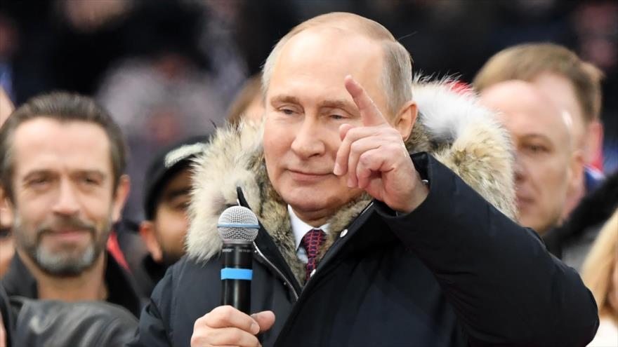 Putin: Crimea nunca volverá a ser parte de Ucrania | HISPANTV