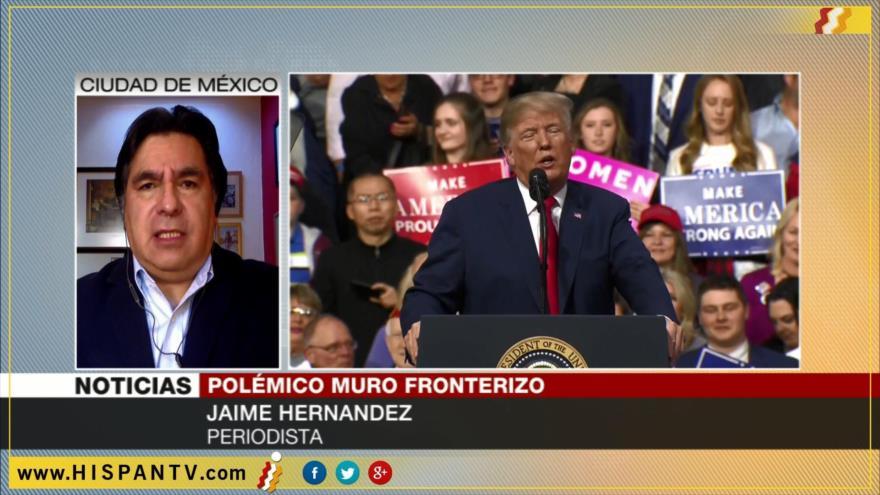 'México reafirmará su posición ante Trump sobre muro fronterizo'