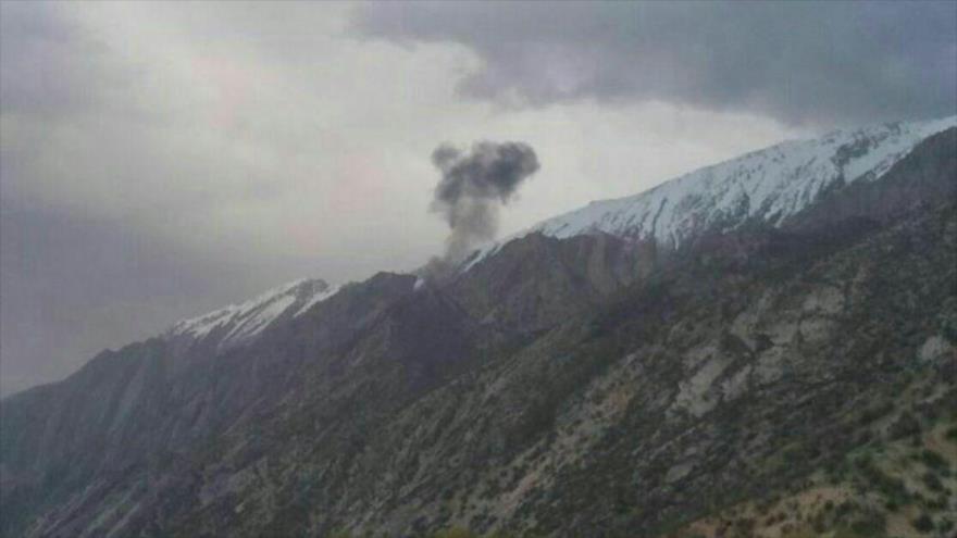Cae jet privado turco en el suroeste de Irán