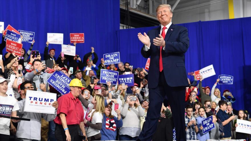 Trump critica gestión de sus antecesores ante Oriente Medio y Pyongyang