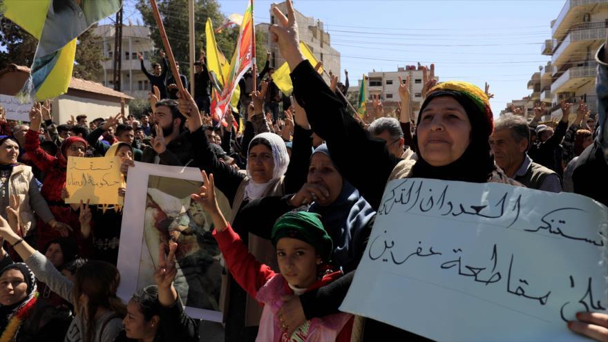 Fuerzas aéreas sirias respondieron a ataque militar turco