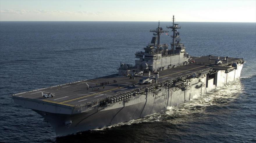 EEUU enviará buque de guerra USS Wasp para ejercicios con Seúl