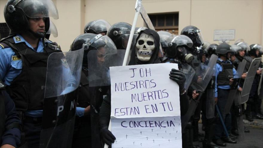 ONU alerta sobre 'ejecuciones extrajudiciales' de opositores en Honduras
