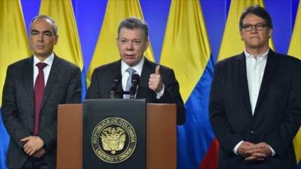 Pese a derrota electoral, Santos reanuda diálogo con ELN