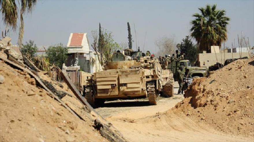 El Ejército sirio libera 60 % del feudo rebelde de Guta Oriental