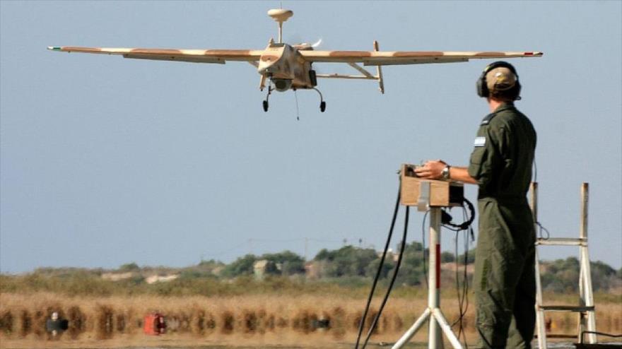 Israel usa dron para lanzar gases lacrimógenos contra palestinos