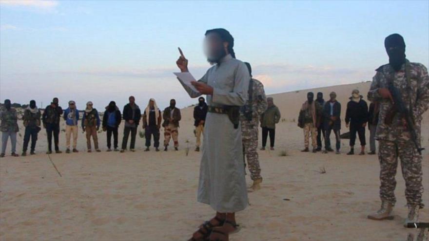 Terroristas del EIIL (Daesh, en árabe) en la península del Sinaí, en Egipto.