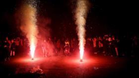 Vídeo: Iraníes celebran la fiesta de 'Chaharshanbe Suri'