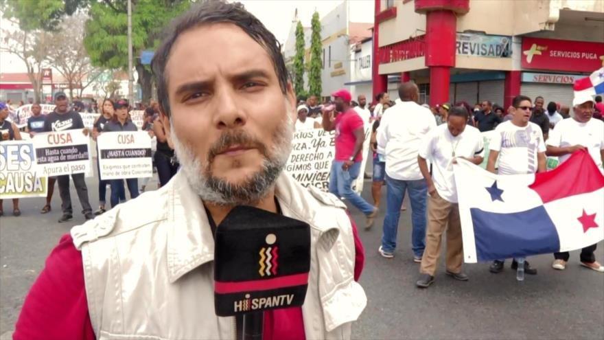 Colonenses extienden huelga por 24 horas más en Panamá