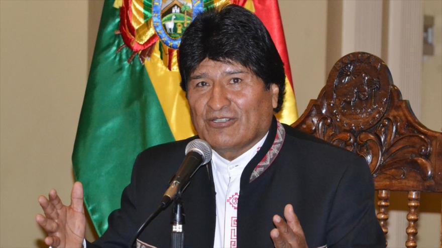 Morales visita al Rey de España en el Palacio de La Zarzuela
