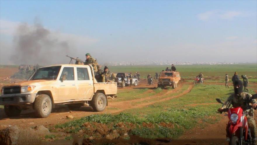 9 bandas terroristas comienzan operación contra Ejército sirio