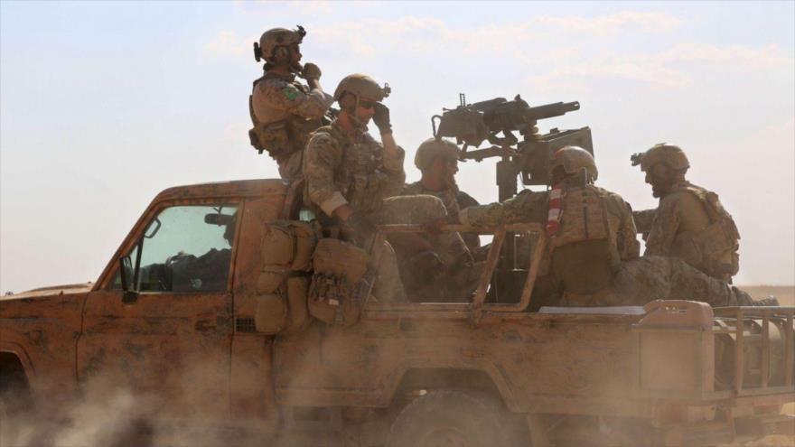 Soldados del Ejército de Estados Unidos en Siria.